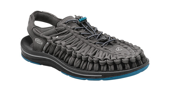 Keen Uneek Flat Sandals Men Raven/Ink Blue